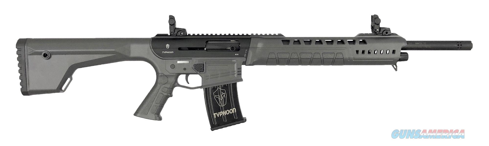 "Typhoon Defense X12 AR-15 12 GA Shotgun 18.5"" X120301   Guns > Shotguns > TU Misc Shotguns"