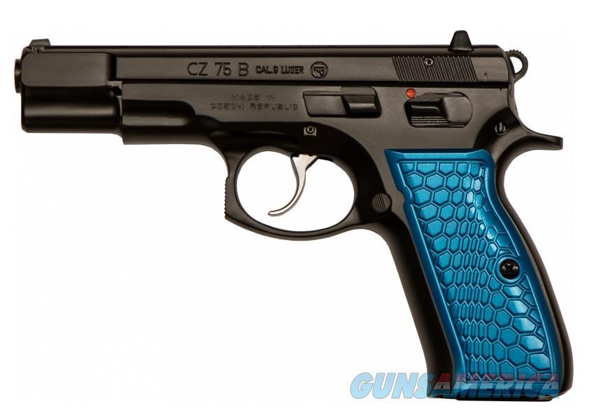 """CZ-USA CZ 75 B 9mm 4.6"""" Blue Wicked 16 Rds 91133   Guns > Pistols > CZ Pistols"""