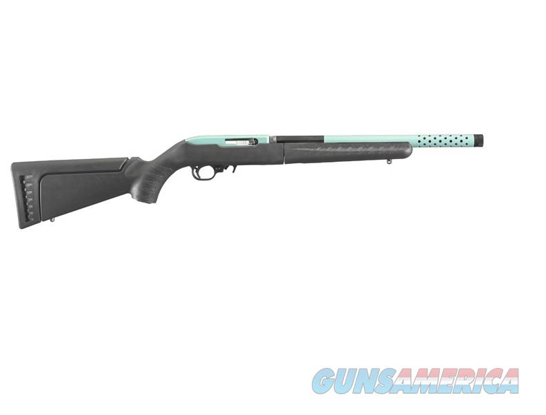 "Ruger 10/22 Takedown Lite TALO Edition 16.12"" Turquoise/Black 21163   Guns > Rifles > Ruger Rifles > 10-22"
