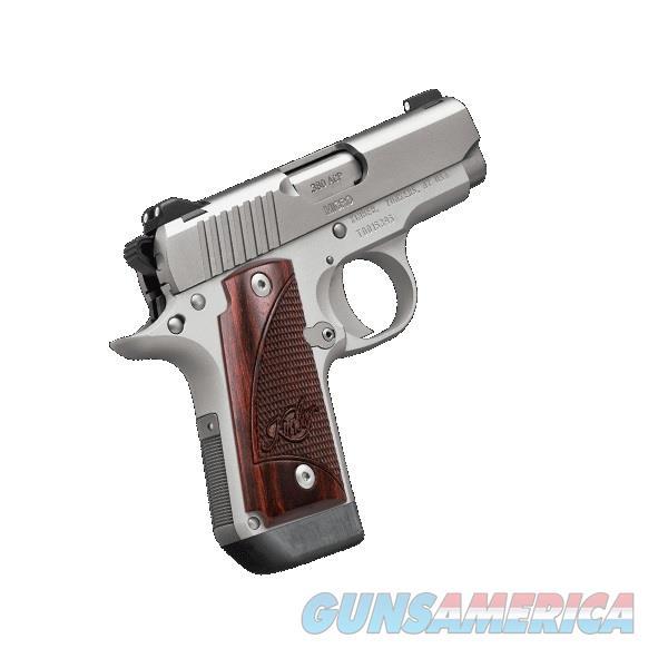 "Kimber Micro Stainless Rosewood .380 ACP 2.75"" NS 3300207  Guns > Pistols > Kimber of America Pistols > Micro"