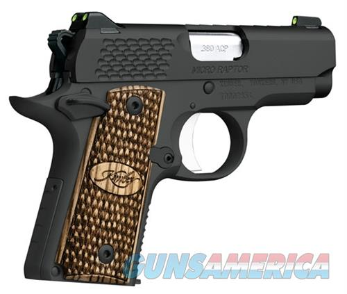 "Kimber Micro Raptor .380 ACP 2.75"" 7 Rds 3300087   Guns > Pistols > Kimber of America Pistols > Micro"