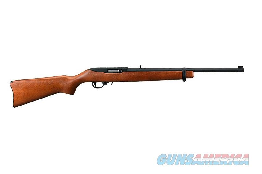 RUGER 10/22 HARDWOOD CARBINE SEMI-AUTO .22 LR 1103  Guns > Rifles > Ruger Rifles > 10-22