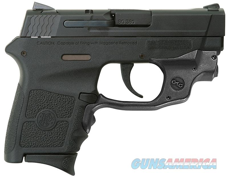 Smith & Wesson M&P Bodyguard Green Crimson Trace .380 ACP 10178  Guns > Pistols > Smith & Wesson Pistols - Autos > Polymer Frame