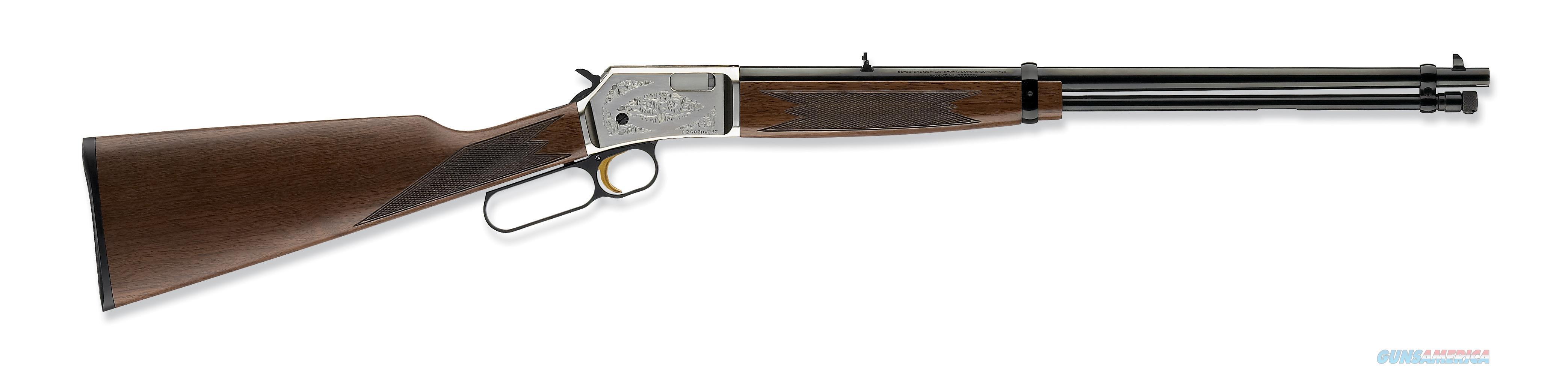 "Browning BL-22 FLD Grade II .22 LR Walnut/Nickel 20"" 024108102   Guns > Rifles > Browning Rifles > Lever Action"