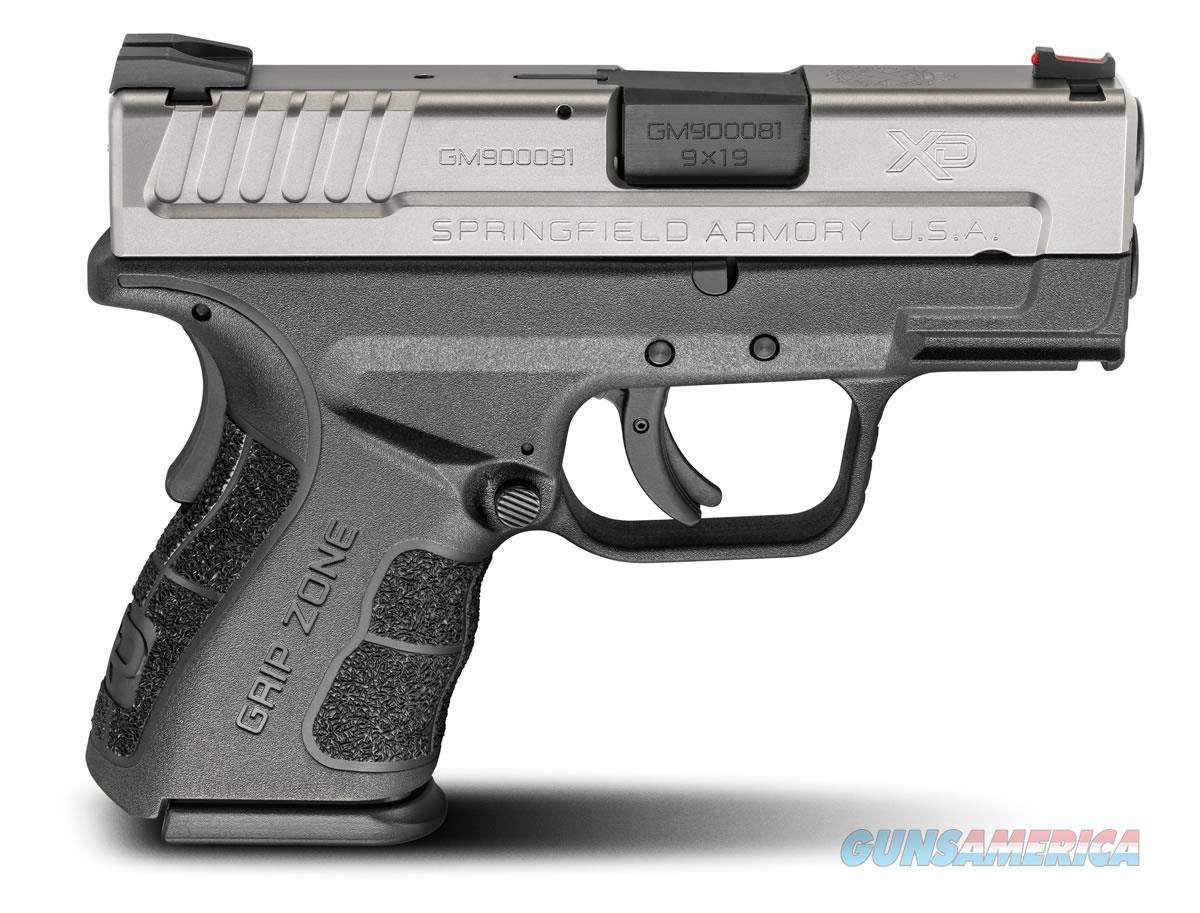 "Springfield XD MOD.2 9mm Sub-Compact Bi-Tone 3"" XDG9821HC   Guns > Pistols > Springfield Armory Pistols > XD-Mod.2"
