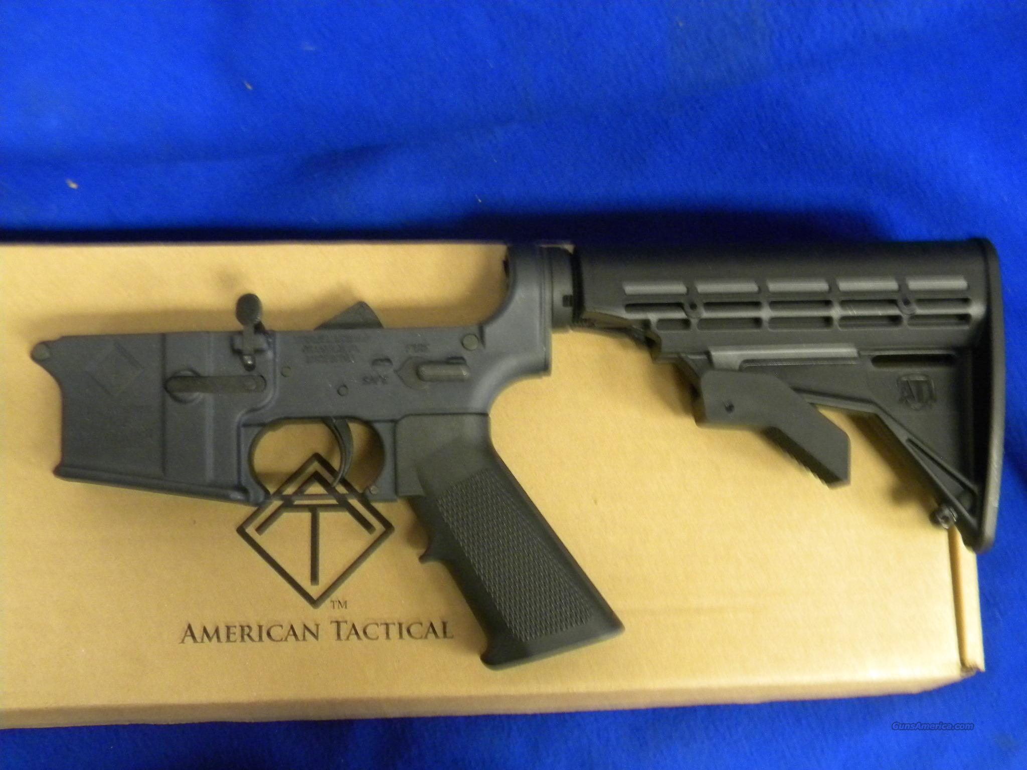 American Tactical Complete Lower Alloy Receiver   Guns > Rifles > AR-15 Rifles - Small Manufacturers > Lower Only