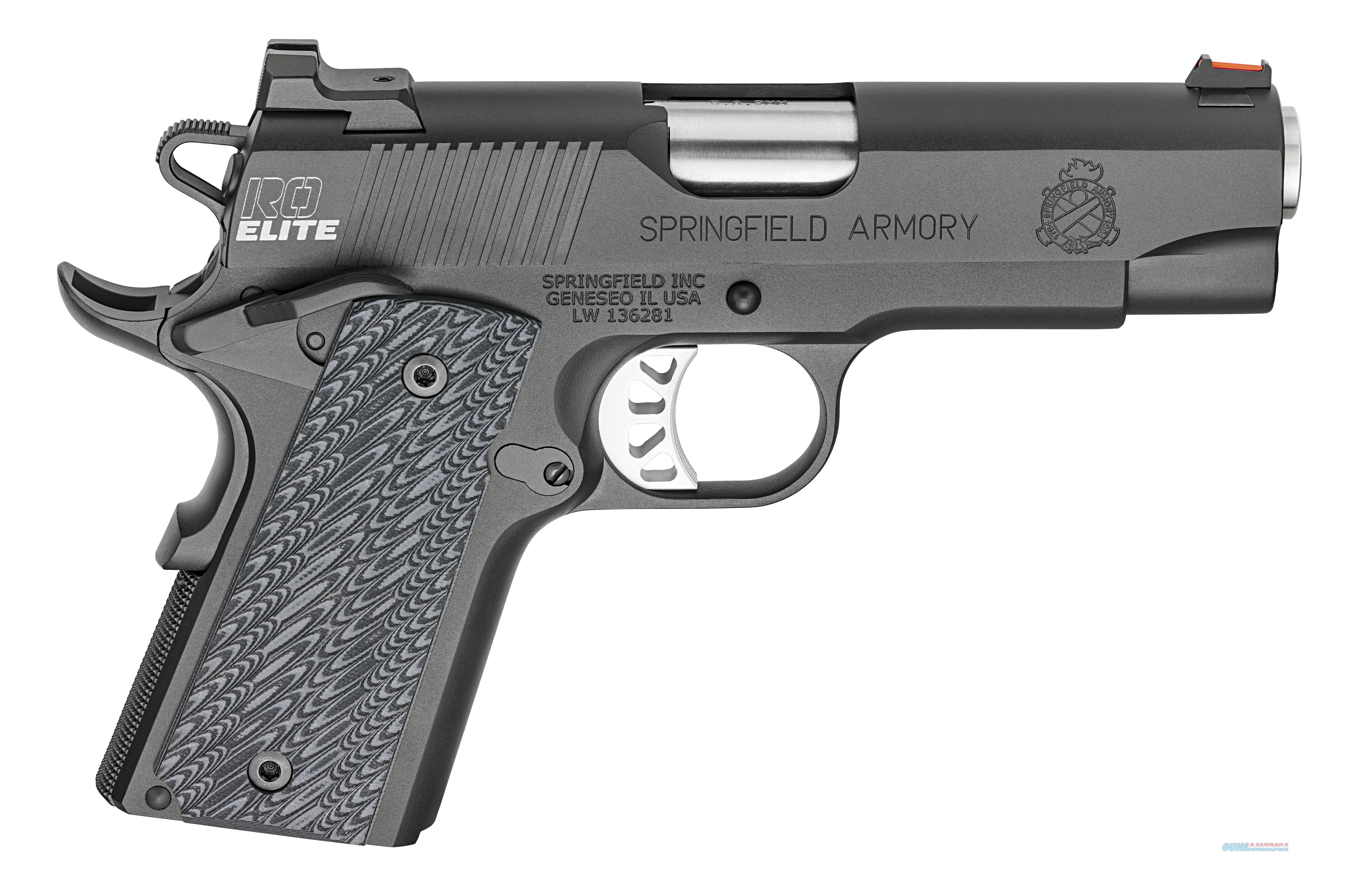 "Springfield 1911 Range Officer Elite 9mm 4"" w/Range Bag PI9125E   Guns > Pistols > Springfield Armory Pistols > 1911 Type"