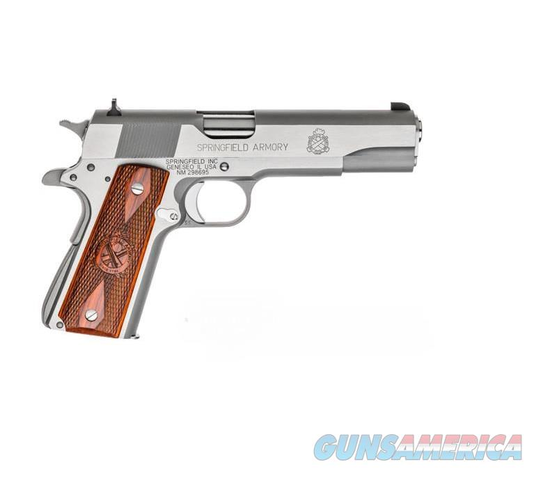 "Springfield 1911 Mil-Spec Stainless .45 ACP CA APPROVED 5"" 7Rd PB9151LCA   Guns > Pistols > Springfield Armory Pistols > 1911 Type"