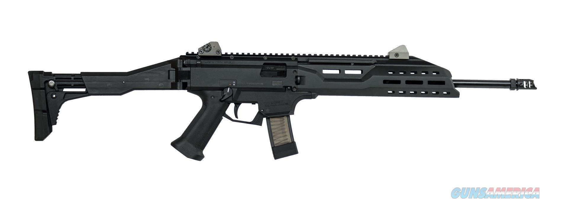 CZ-USA Scorpion EVO 3 S1 Carbine w/Muzzle Brake 9mm Luger 08505   Guns > Rifles > CZ Rifles