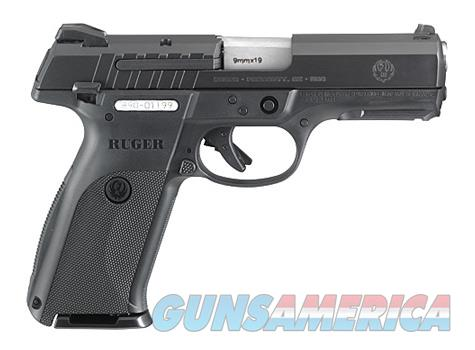 "Ruger SR Series 9E 9mm 4.14"" Black 17 Rds 3340  Guns > Pistols > Ruger Semi-Auto Pistols > SR Family > SR9E"