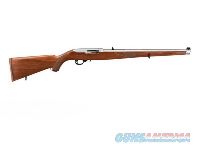 "Ruger 10/22 Carbine Walnut Mannlicher .22 LR 18.5"" 1264   Guns > Rifles > Ruger Rifles > 10-22"