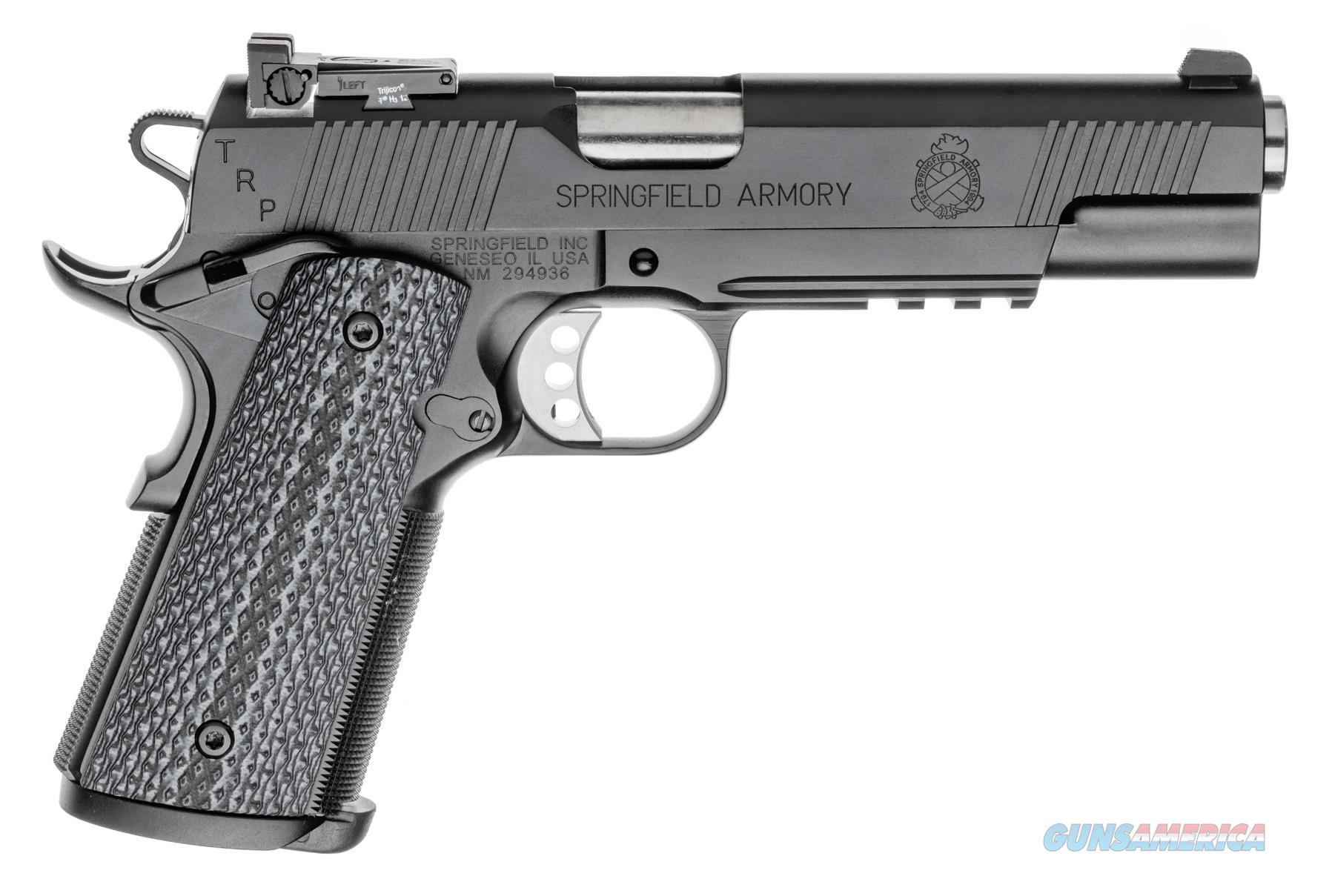 "Springfield 1911 TRP Operator .45 ACP 5"" w/Rail Black Armory Kote PC9105L18   Guns > Pistols > Springfield Armory Pistols > 1911 Type"