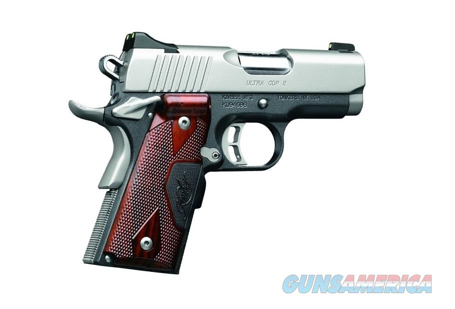 "KIMBER ULTRA CDP (LG) LASER GRIP 1911 3"" .45 ACP 3000257  Guns > Pistols > Kimber of America Pistols > 1911"