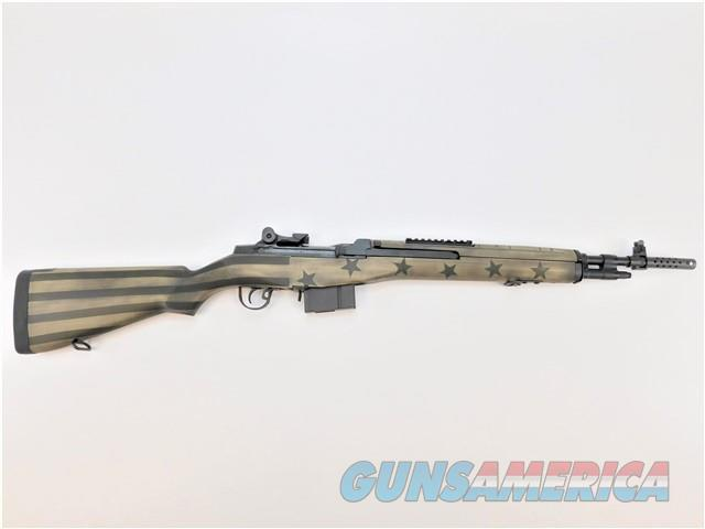 Springfield M1A Scout Squad LIMITED EDITION .308 Win ODG Flag AA9115SG   Guns > Rifles > Springfield Armory Rifles > M1A/M14