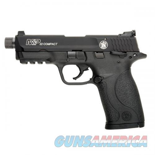 SMITH & WESSON M&P COMPACT THREADED .22 22LR 10199  Guns > Pistols > Smith & Wesson Pistols - Autos > .22 Autos