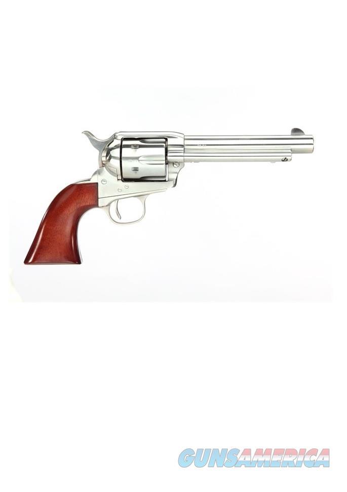 """Uberti 1873 Cattleman Stainless .45 LC 5.5"""" 345119  Guns > Pistols > Uberti Pistols > Ctg."""