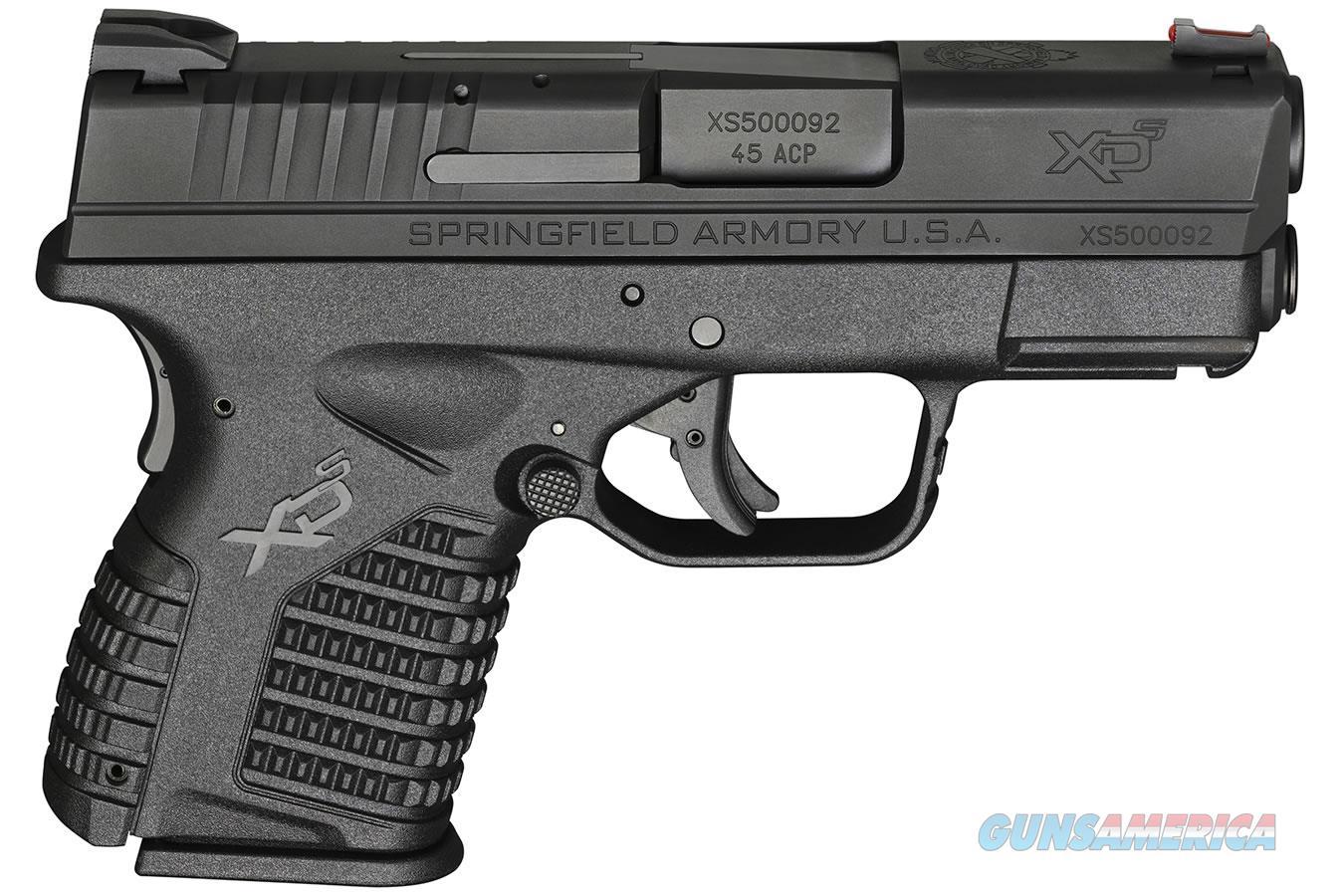 """Springfield Armory XDS 3.3"""" .45 ACP 5 RD Mag XDS93345BB  Guns > Pistols > Springfield Armory Pistols > XD-S"""
