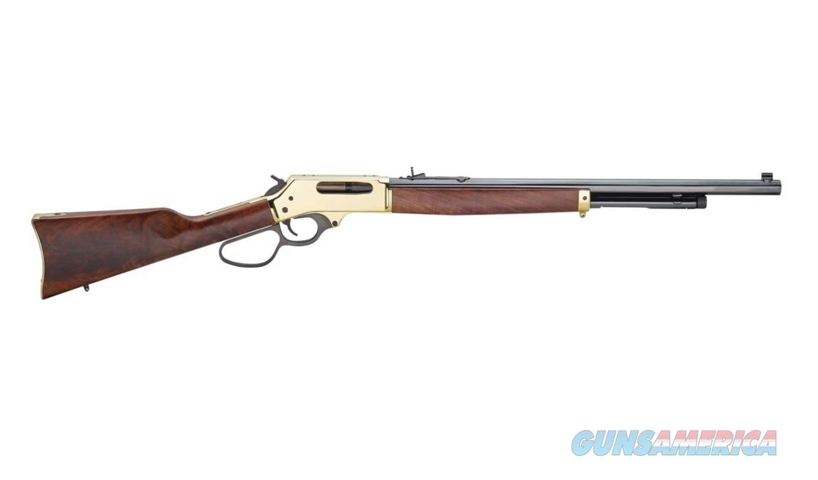 "Henry .45-70 Lever Action 22"" Octagon Brass H010B   Guns > Rifles > Henry Rifle Company"