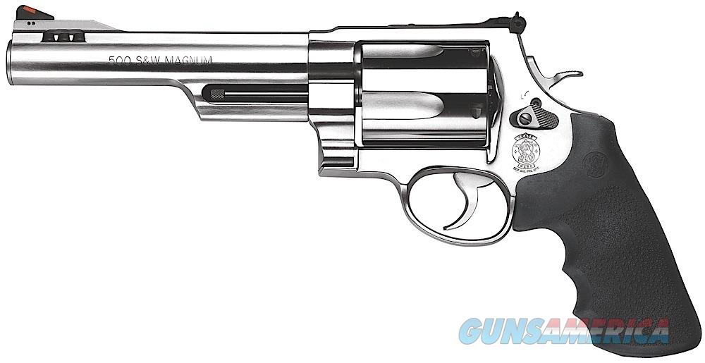 "Smith & Wesson S&W500 .500 S&W Magnum 6.5"" 163565   Guns > Pistols > Smith & Wesson Revolvers > Full Frame Revolver"