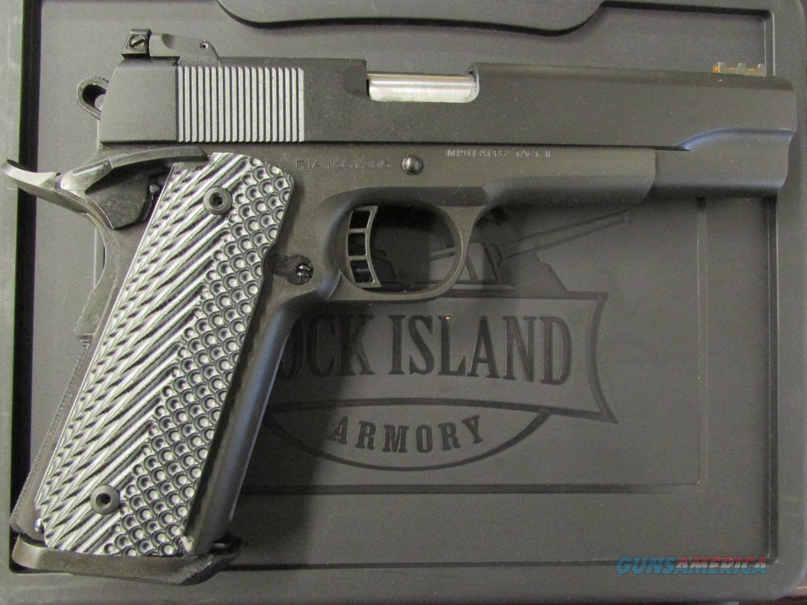 Armscor Rock Island Armory M1911-A1 FS Tactical II 10mm 51991  Guns > Pistols > Armscor Pistols