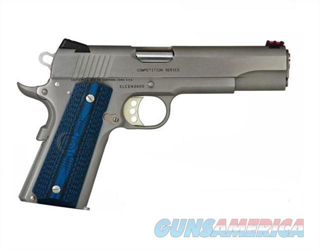 COLT COMPETITION PISTOL STAINLESS 1911 .38 SUPER  O1083CCS  Guns > Pistols > Colt Automatic Pistols (1911 & Var)