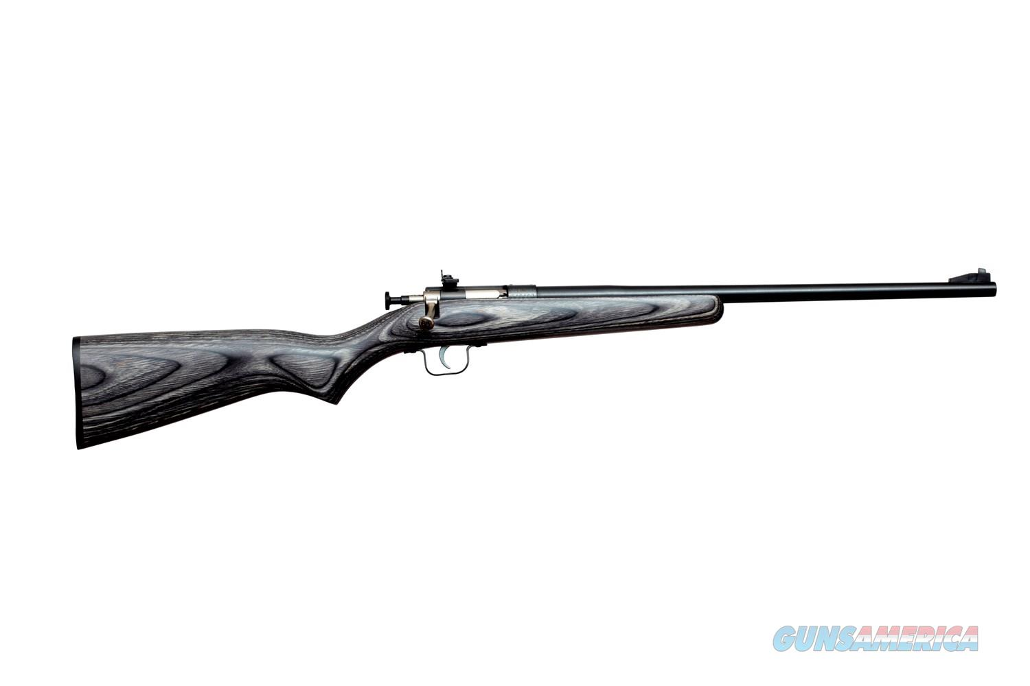 Keystone Crickett Single Shot .22 LR Black Laminate KSA2244  Guns > Rifles > K Misc Rifles