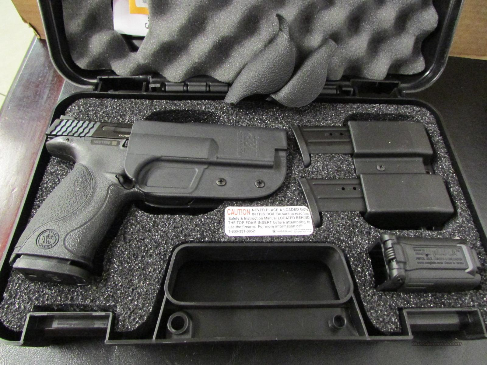 Smith & Wesson M&P 9mm Carry And Range Kit 2093... For Sale