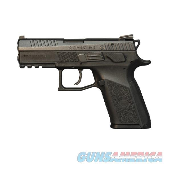 "CZ-USA CZ P-07 9mm Black 3.75"" 15 Rounds 91086   Guns > Pistols > CZ Pistols"