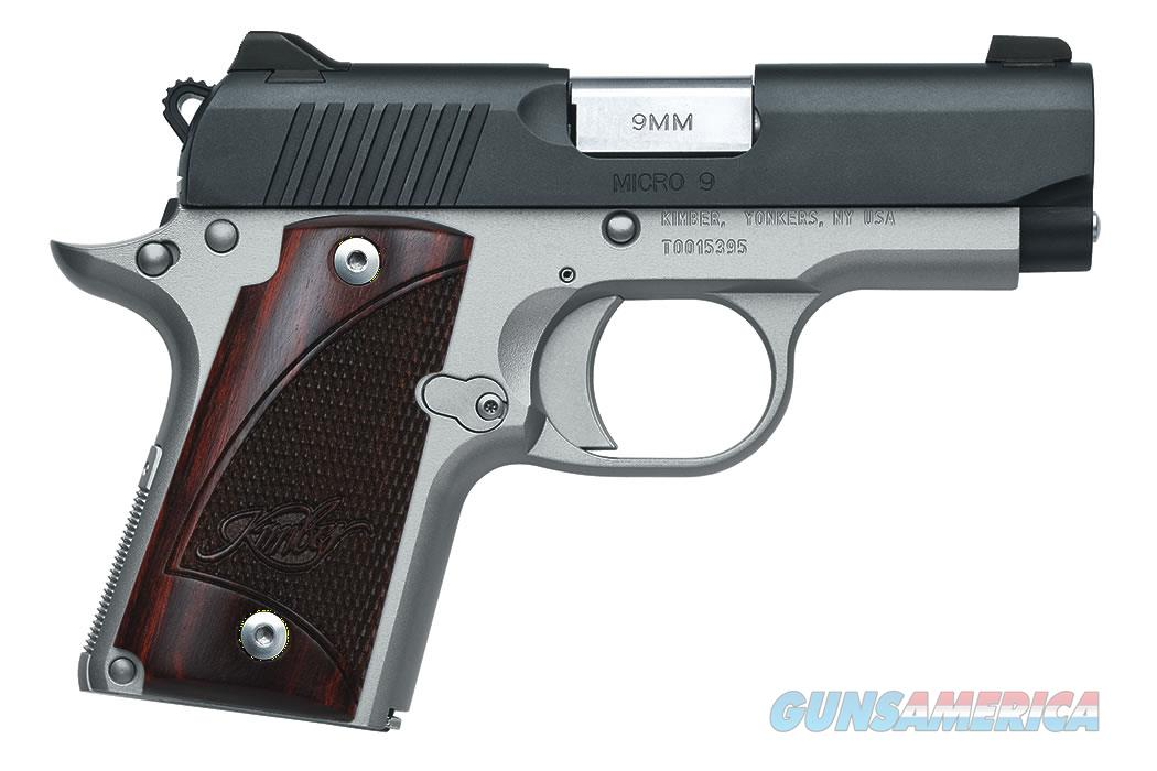"Kimber Micro 9 Two-Tone 9mm 3.15"" 7 Rds 3300099  Guns > Pistols > Kimber of America Pistols > Micro 9"