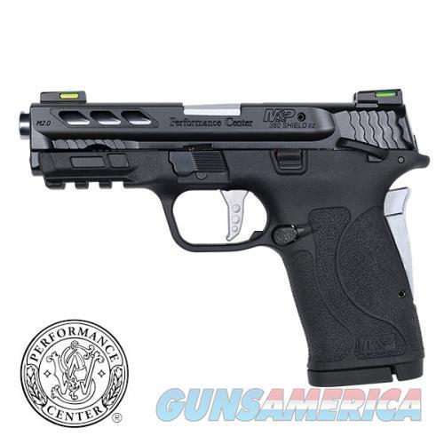 "Smith & Wesson PC M&P 380 Shield EZ .380 ACP 3.8"" Ported Silver 12718  Guns > Pistols > Smith & Wesson Pistols - Autos > Shield"