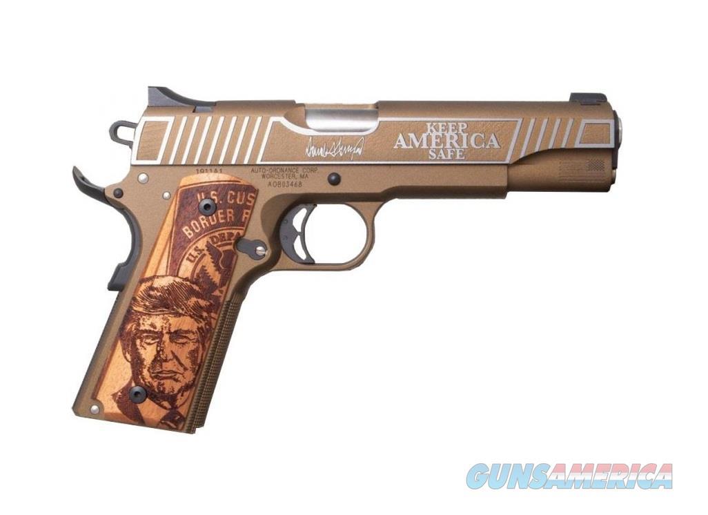 Auto-Ordnance Trump #2 Keep America Great 1911 1 of 2020 1911TCAC2  Guns > Pistols > Auto Ordnance Pistols