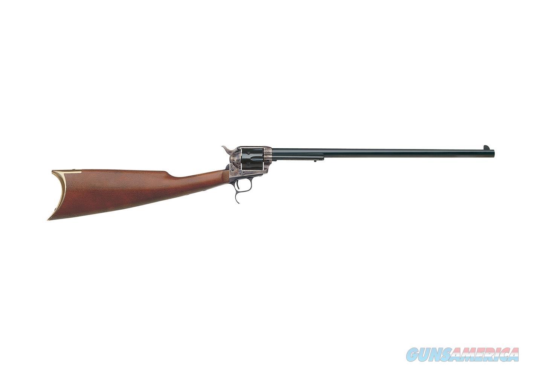 "Uberti 1873 Revolver Carbine Case-Hardened .45 Colt 18"" 345190  Guns > Rifles > Uberti Rifles > Revolving"