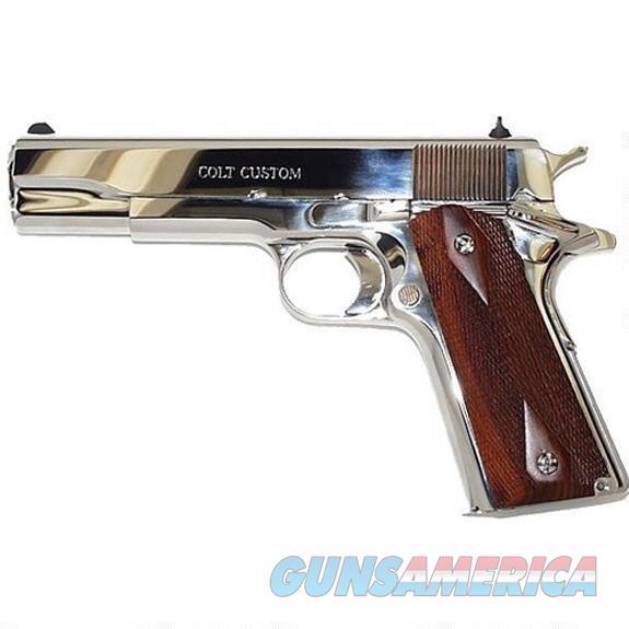 "Colt 1911 Government .38 Super Bright Stainless 5"" O2071ELC2   Guns > Pistols > Colt Automatic Pistols (1911 & Var)"