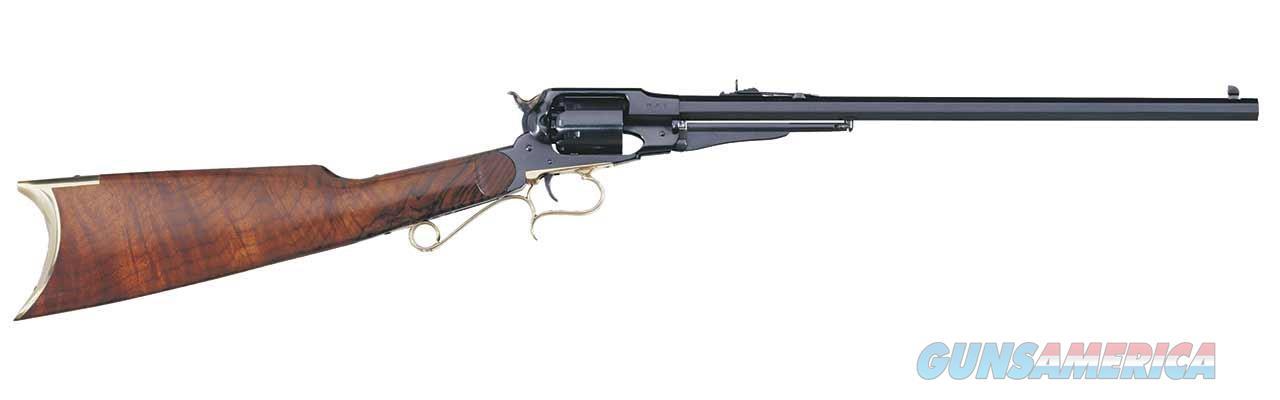 "Taylor's & Co. / Uberti 1858 Revolving Carbine .44 Cal 18"" REV430B   Guns > Pistols > Taylors & Co. Pistols > Percussion"
