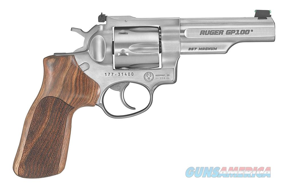 "Ruger GP100 Match Champion .357 Magnum 4.2"" SS 1755   Guns > Pistols > Ruger Double Action Revolver > SP101 Type"