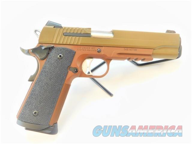 SIG SAUER 1911R 1911 TACOPS .45 ACP CERAKOTE BROWN FDE   Guns > Pistols > Sig - Sauer/Sigarms Pistols > 1911