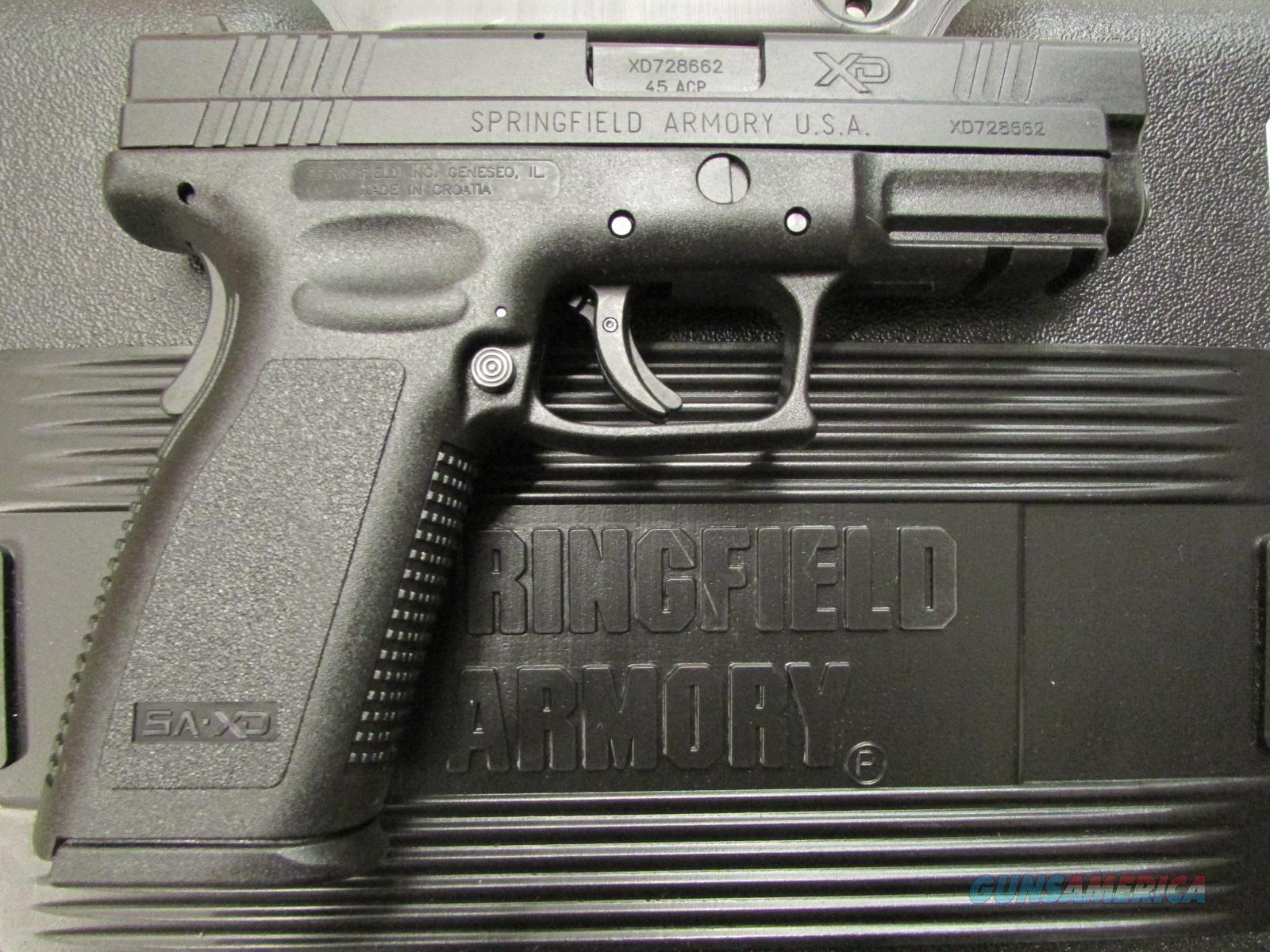 "Springfield Armory XD 4"" Full Size Service Model .45 ACP XD9611HC  Guns > Pistols > Springfield Armory Pistols > XD (eXtreme Duty)"
