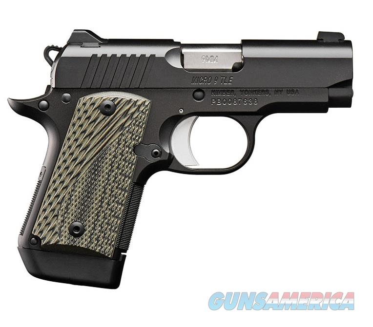 """Kimber 3300193 Micro 9 Stainless Dn Pistol: Kimber Micro 9 TLE (NS) 9mm 3.15"""" 7 Rds 3300191... For Sale"""