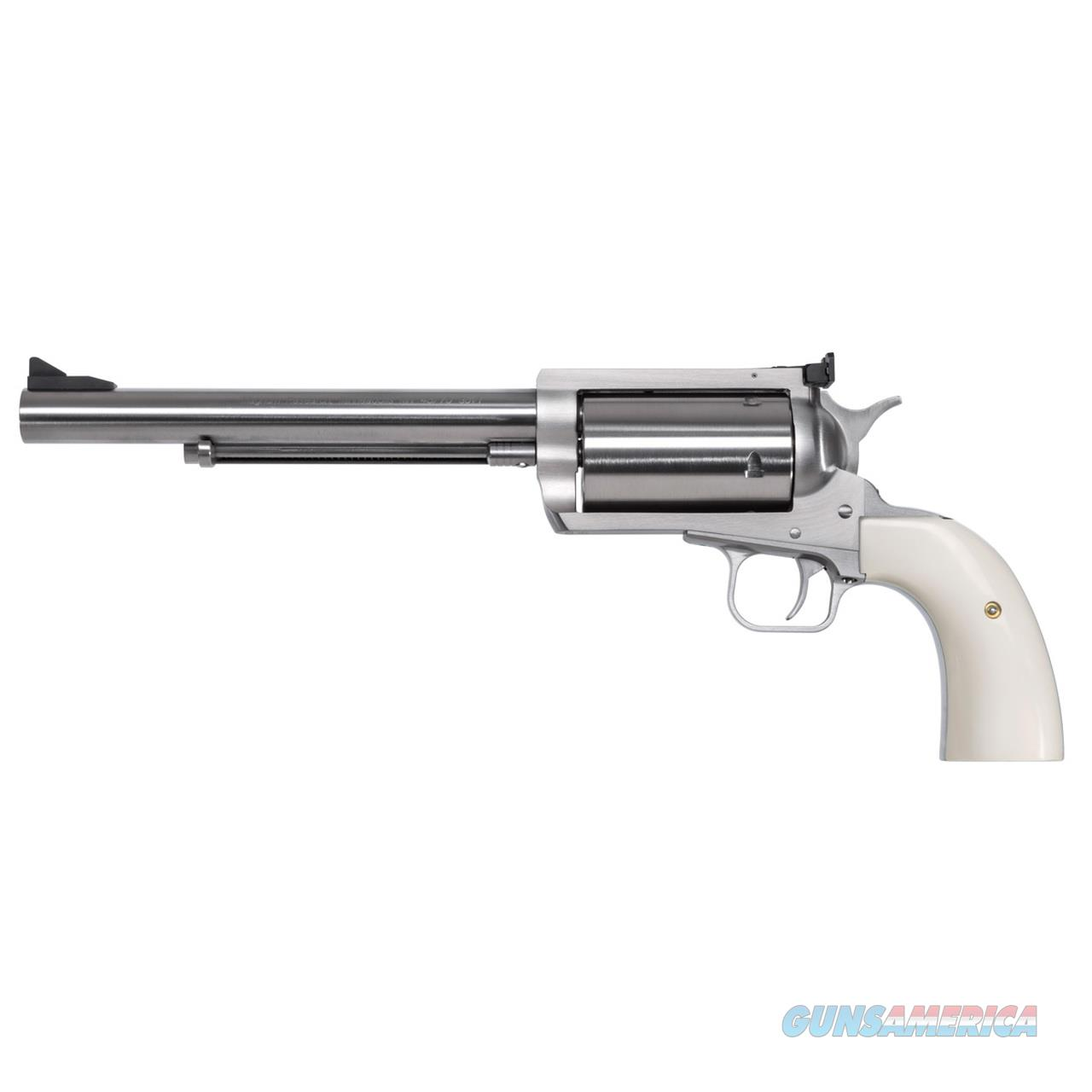"""Magnum Research BFR .30-30 Win 7.5"""" Stainless Bisley Grips BFR30-307B   Guns > Pistols > Magnum Research Pistols"""