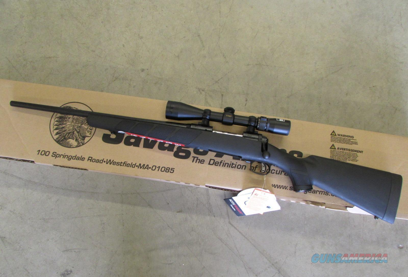 Savage Arms 11 Trophy Hunter XP (Youth) LH .243 WIN 3-9x40 Scope 19711   Guns > Rifles > Savage Rifles > 11/111