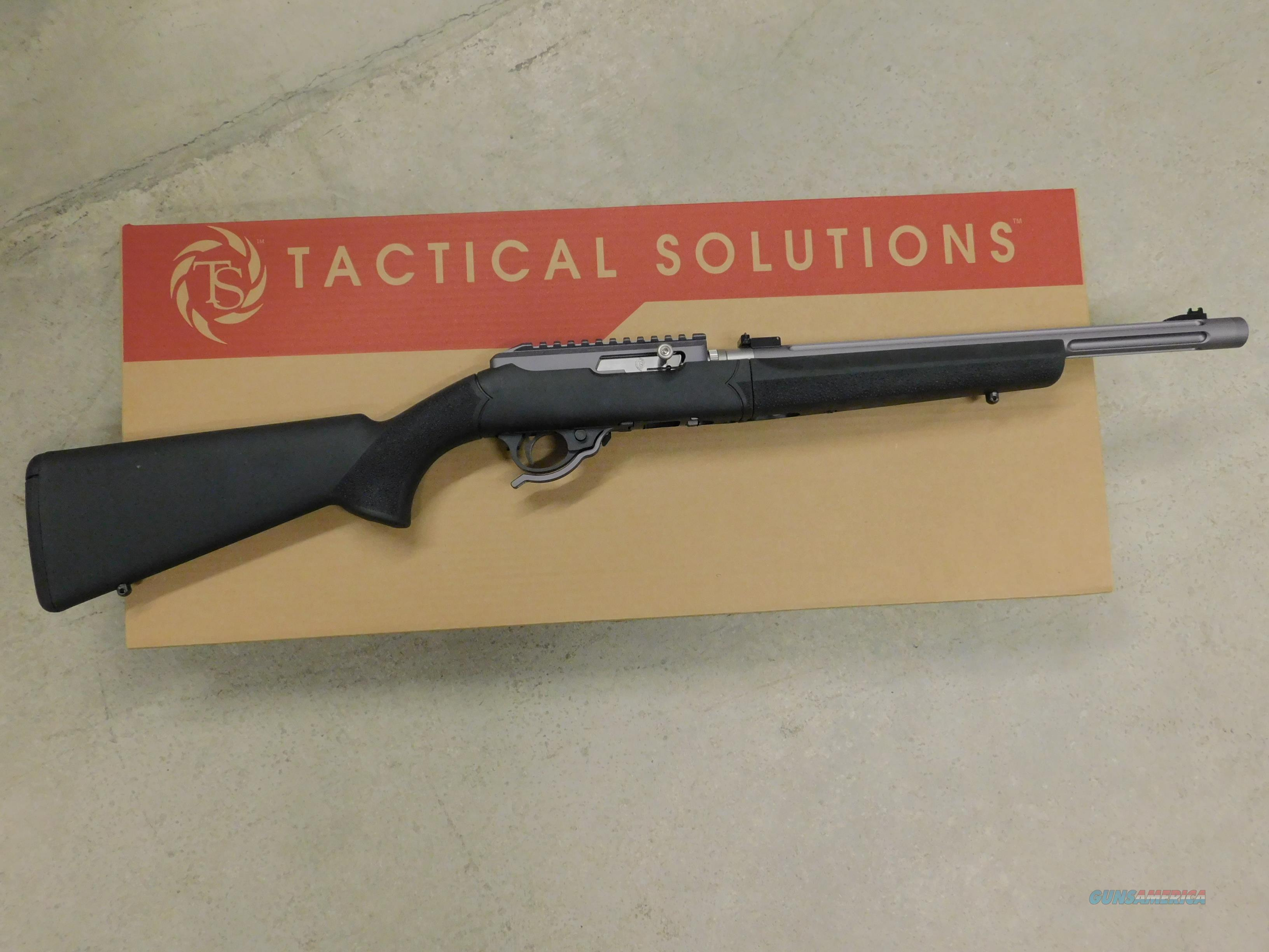 Tactical Solutions 10/22 X-Ring Takedown .22LR BLK/Gun Metal TD-GMG-T-H-BLK  Guns > Rifles > Ruger Rifles > 10-22