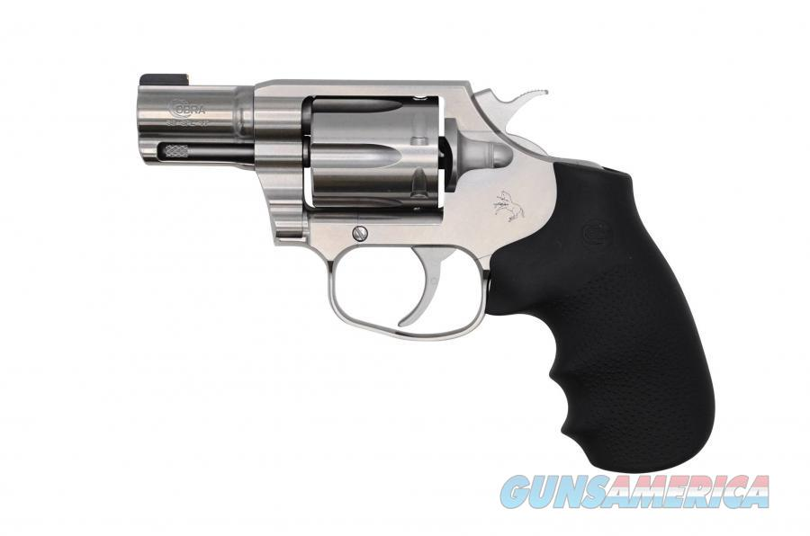 "Colt Cobra Revolver .38 Special 2.1"" Brushed Stainless COBRA-SB2BB  Guns > Pistols > Colt Double Action Revolvers- Modern"