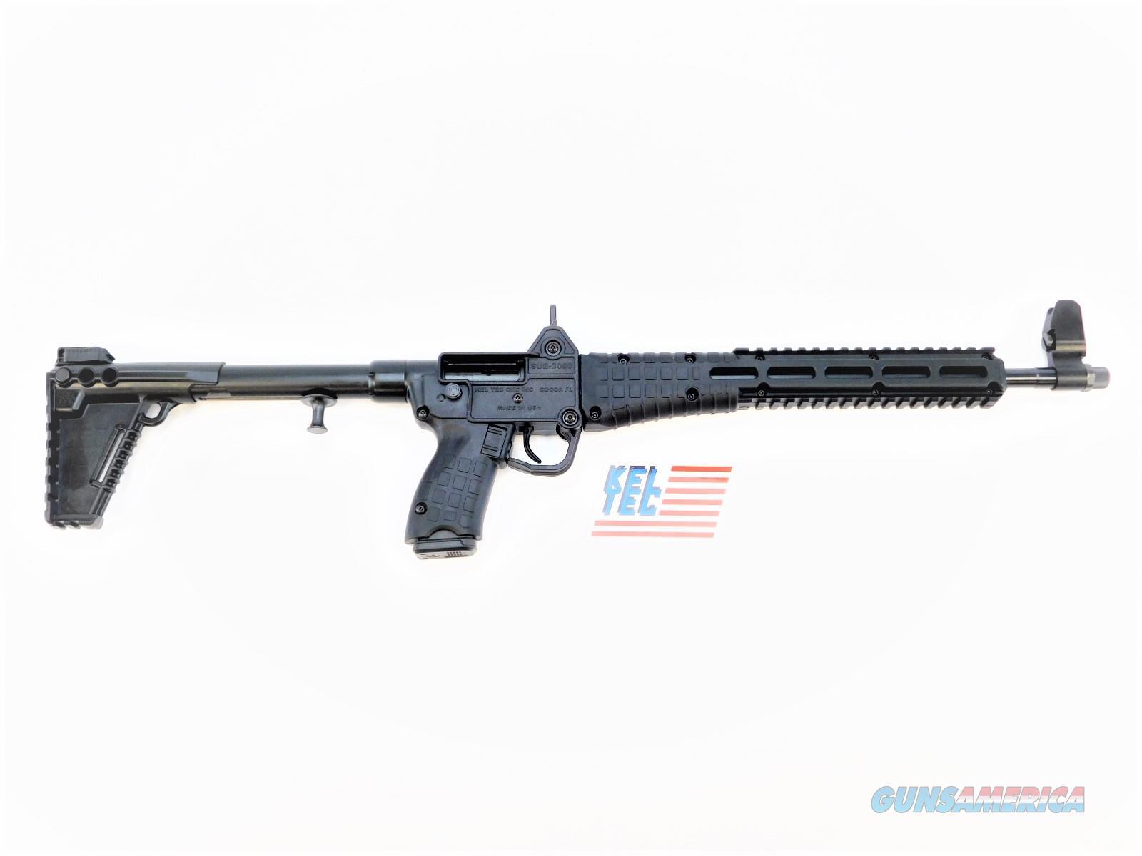 Kel-Tec Sub 2000 9mm Glock 17 Rds SUB2K9GLK17BBLK  Guns > Rifles > Kel-Tec Rifles