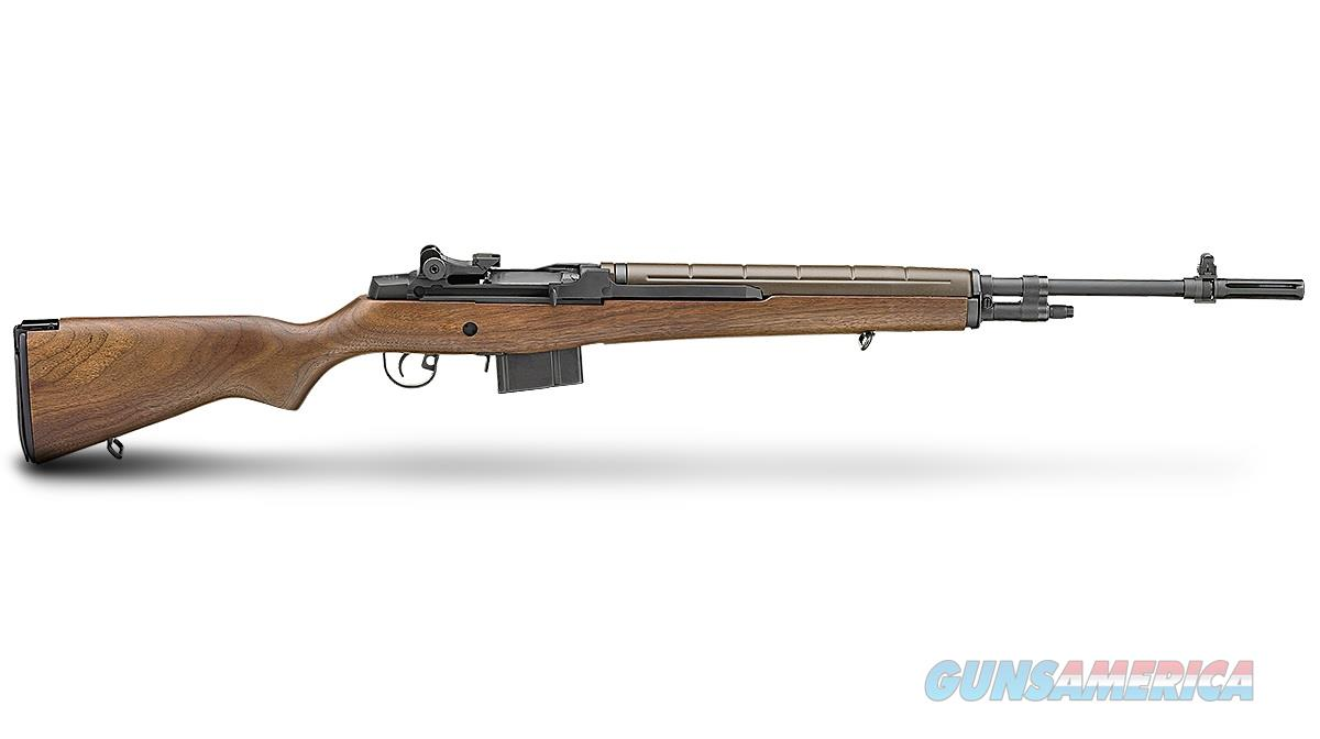 "Springfield Armory M1A Loaded Walnut Stock 7.62 NATO/.308 Win 22"" MA9222  Guns > Rifles > Springfield Armory Rifles > M1A/M14"