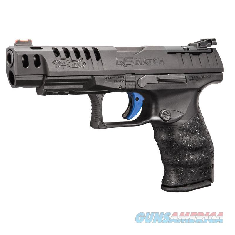 """Walther PPQ Q5 Match 9mm Luger 5"""" Black 2813335   Guns > Pistols > Walther Pistols > Post WWII > P99/PPQ"""