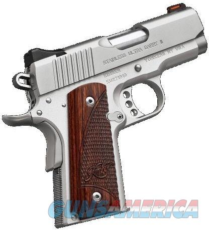 "Kimber Stainless Ultra Carry II 1911 (2017) 9mm 3"" 8rd 3200329   Guns > Pistols > Kimber of America Pistols"