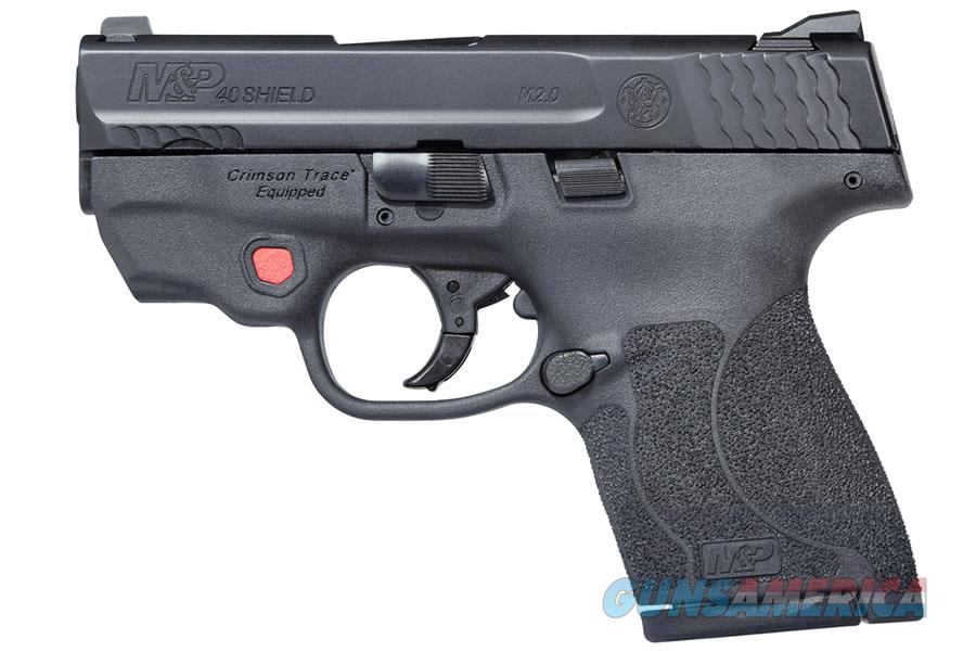 "Smith & Wesson M&P40 Shield M2.0 .40 S&W CT Red Laser NTS 3.1"" 11674   Guns > Pistols > Smith & Wesson Pistols - Autos > Shield"