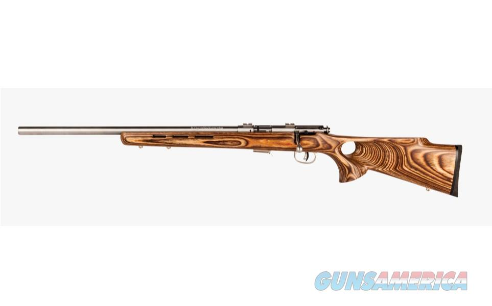 "Savage Model 93R17 BTVLSS Left-Hand 21"" Stainless .17 HMR 96210   Guns > Rifles > Savage Rifles > Accutrigger Models > Sporting"