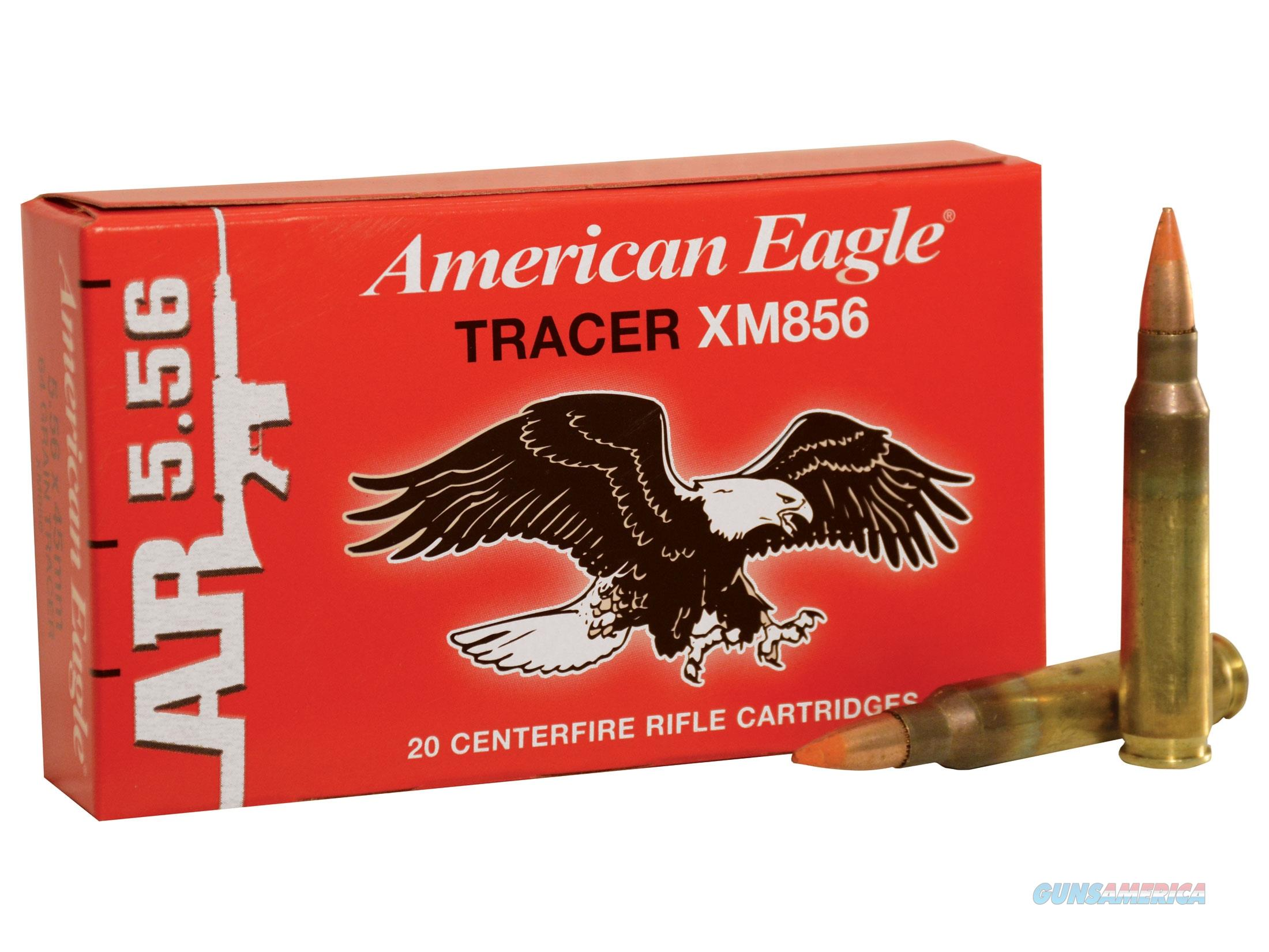 Federal American Eagle XM856 FMJ Tracer 5.56mm  Non-Guns > Ammunition