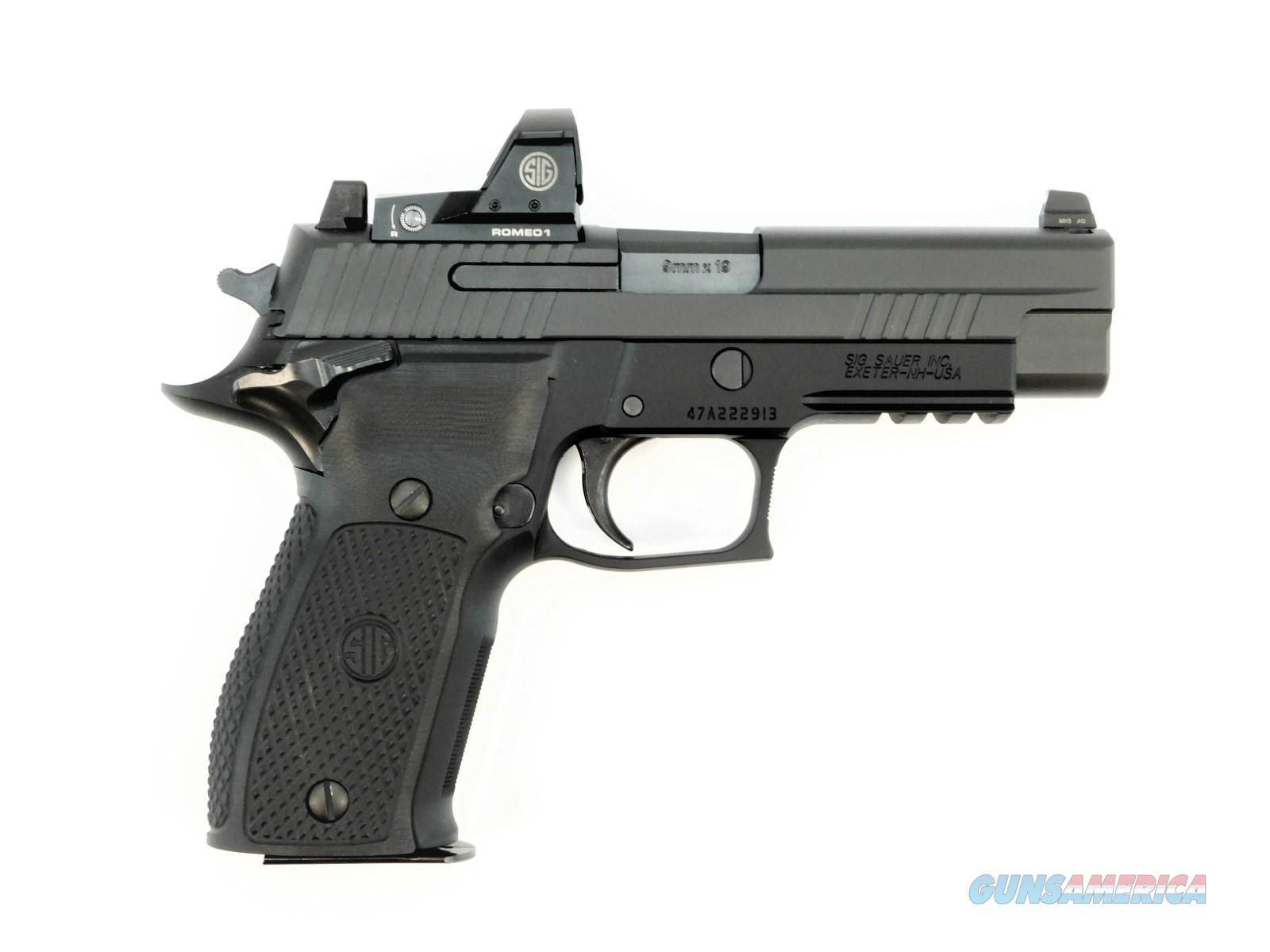 Sig Sauer P226 9MM RX Romeo SAO E26R-9-BSE-SAO-RX  Guns > Pistols > Sig - Sauer/Sigarms Pistols > P226